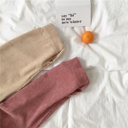 Sztruks bluzka kobiety moda z długim rękawem Preppy szeroki pas skręcić w dół kołnierz Crop kurtka damska Harajuku dorywczo kieszeń kurtka 6