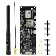 LILYGO®TTGO T Beam V1.1 SX1262 LORA 868/915MHZ ESP32 WiFi سماعة لاسلكية تعمل بالبلوتوث وحدة تحديد المواقع NEO M8N IPEX 18650 حامل بطارية