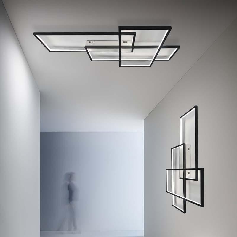 Ecolight Modern Led Ceiling Light Flush Mounted Lamp For Living Room Bedroom Home Decor Ambient Lighting Smart Home