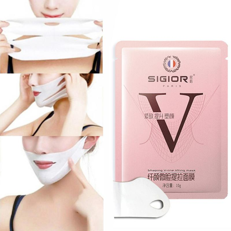 Lifting V-Shape Masks Face Neck Lift Peel-off Mask Face Label Lift Up Sticker Chin Adhesive Tape  Slimming Bandage