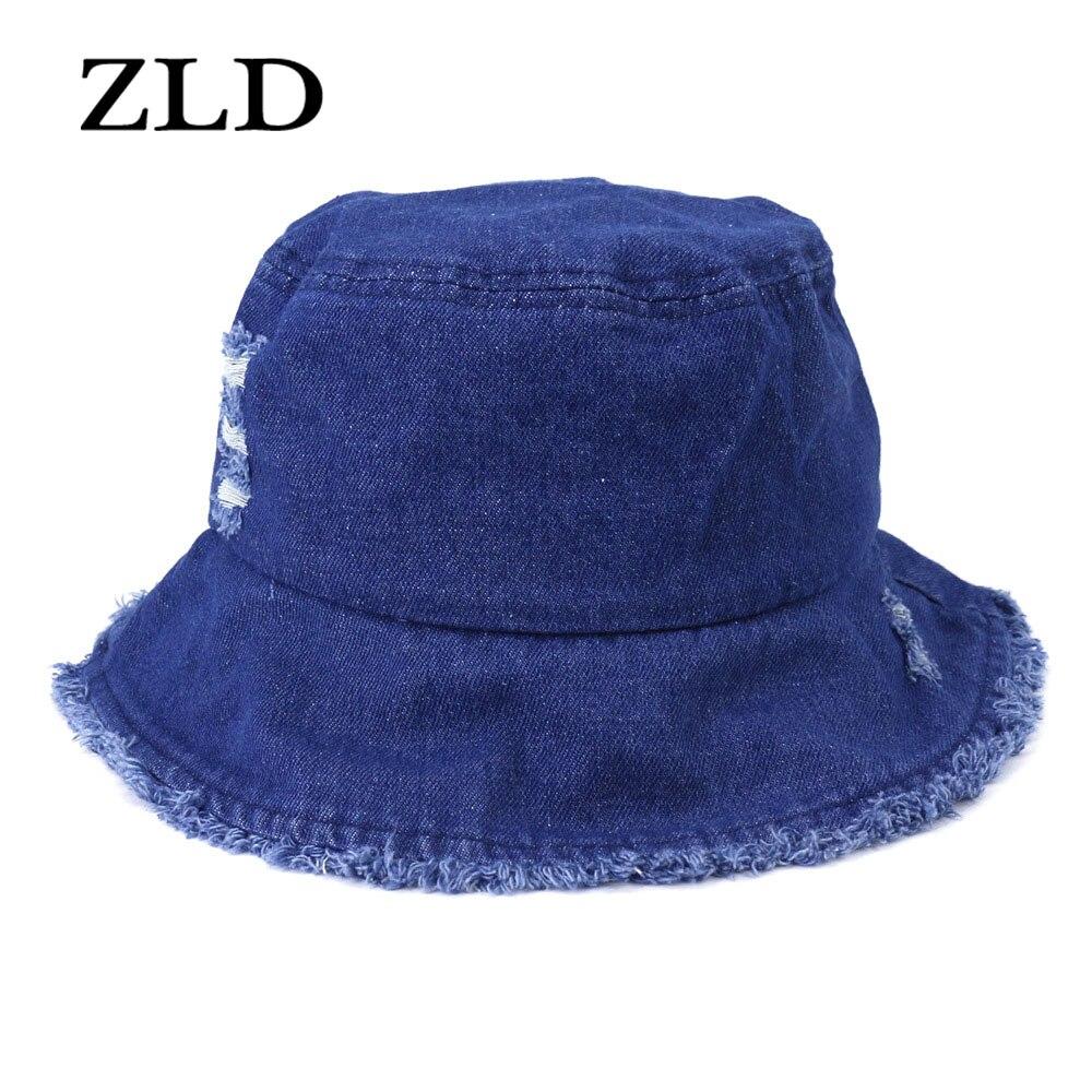 ZLD New style cowboy hats Version travel beach flat top sun protection sun hat for women hip-hop cap Casual  Unisex  mens hat