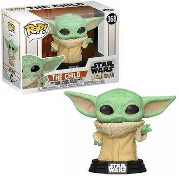 FUNKO POP STAR WARS THE CHILD Bay Yodas #368 Vinyl Action Figure Collection Model toys for Children Birthday Gift