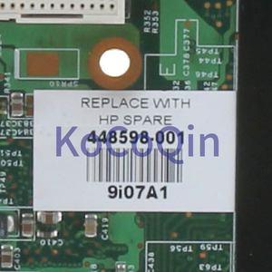 Image 4 - KoCoQin Laptop Motherboard For HP Compaq V3000 DV2000 Mainboard 448598 001 06228 3 965 DDR2