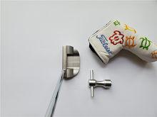Novos clubes de golfe fastback especial 1.5 putter fastback 1.5 taco golfe azul 33/34/35 Polegada eixo aço com cabeça cobrir
