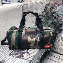 Camouflage Waterproof duffle Bag Business handbags Crossbody Sports Fitness travel bags hand luggage