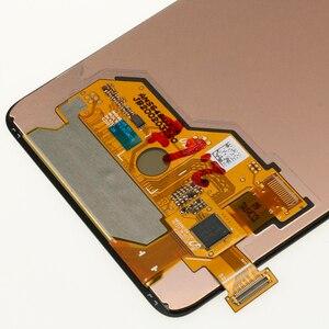 Image 5 - 100% süper AMOLED 6.5 Samsung Galaxy A51 LCD A515 A515F A515F/DS A515FD dokunmatik ekran çerçeve Digitizer meclisi
