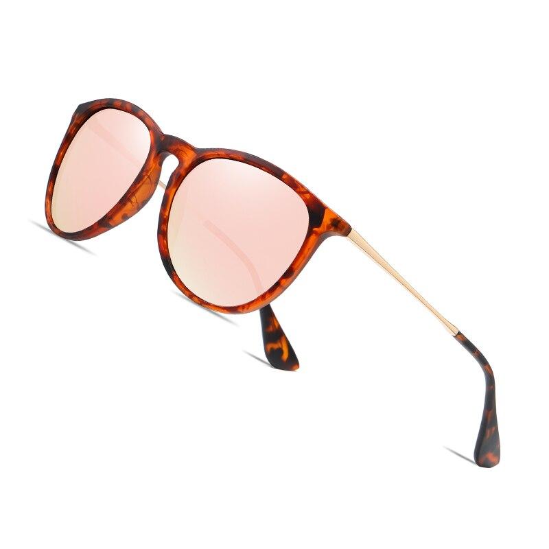 AOFLY BRAND DESIGN Round Polarized Sunglasses Women Vintage TR90 Frame 2020 Fishing Ladies Anti-Glare Mirror Sun Glasses Male
