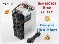 Newest BTC BCH Miner Love Core A1 Miner Aixin A1 25T With PSU Economic Than Antminer S9 S11 S15 S17 T9+ T15 T17 WhatsMiner M3X