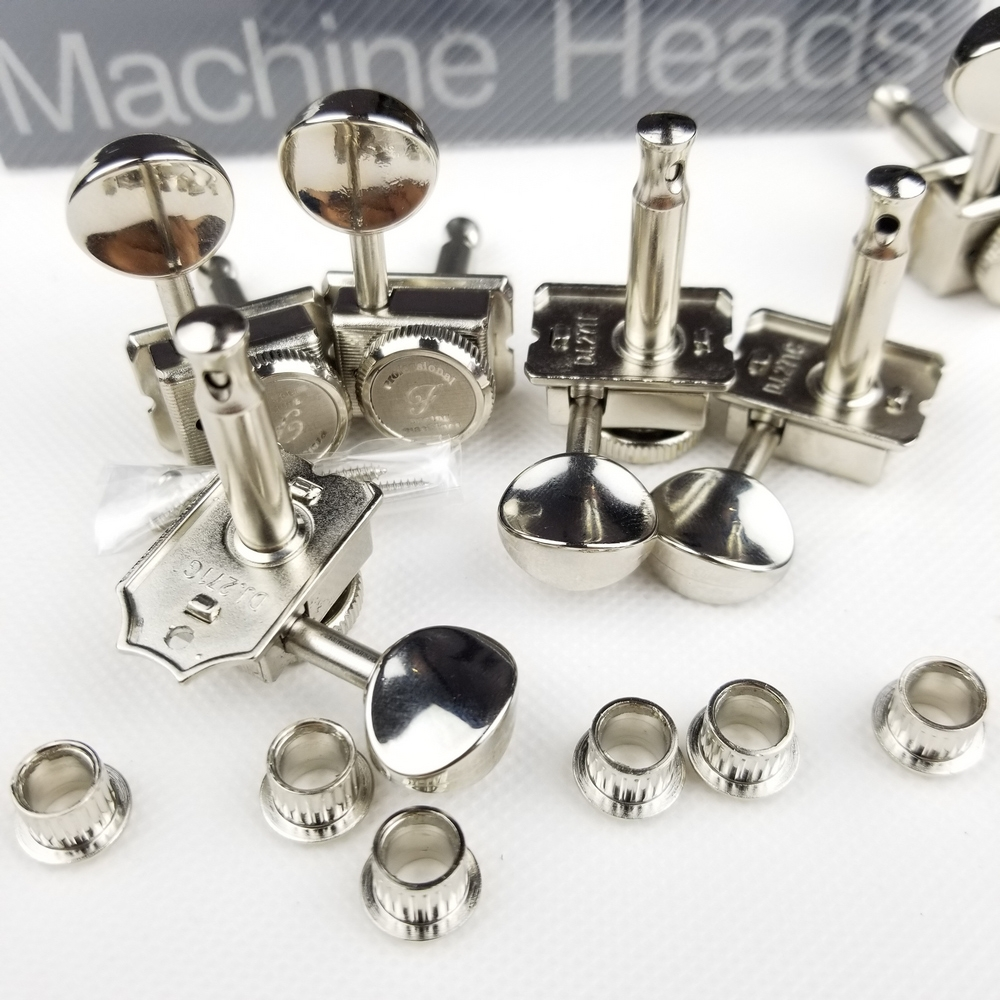 Vintage Nickel Lock String Locking Tuners Electric Guitar Machine Heads Tuners For ST TL Guitar Tuning Pegs in Guitar Parts Accessories from Sports Entertainment