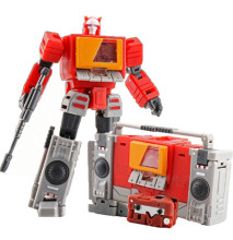 Lensple MS-TOYS Transformation MS-B17 MSB17 MS-B17s MSB17S Blaster Surround Sound Mini Action Figure Robot Toys