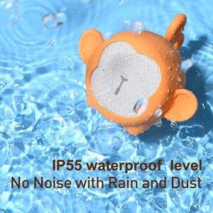 Image 4 - Baseus bluetoothスピーカーポータブル防水ミニスピーカー用より良い 3 ワット低音カラフルな動物モデルステレオサウンド