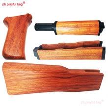 PB Playful bag Outdoor sports gel ball gun RX Redwood Renxiang AKM rear support generation 3 aks suit toy accessories KG08