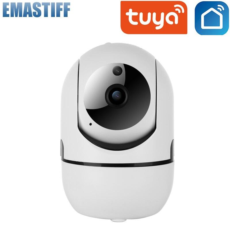 HD 1080P kamera IP Tuya Smartlife App nadzoru bezpieczeństwa niania elektroniczna Baby Monitor bezprzewodowy Mini kryty kamera inteligentny Alarm