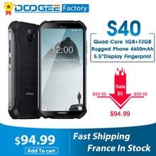 DOOGEE S40 4GNetwork Robuste Handy Android 9,0 8,0 MP IP68/IP69K MT6739 Quad Core 3GB RAM 32GB ROM 5,5 zoll Display 4650mAh