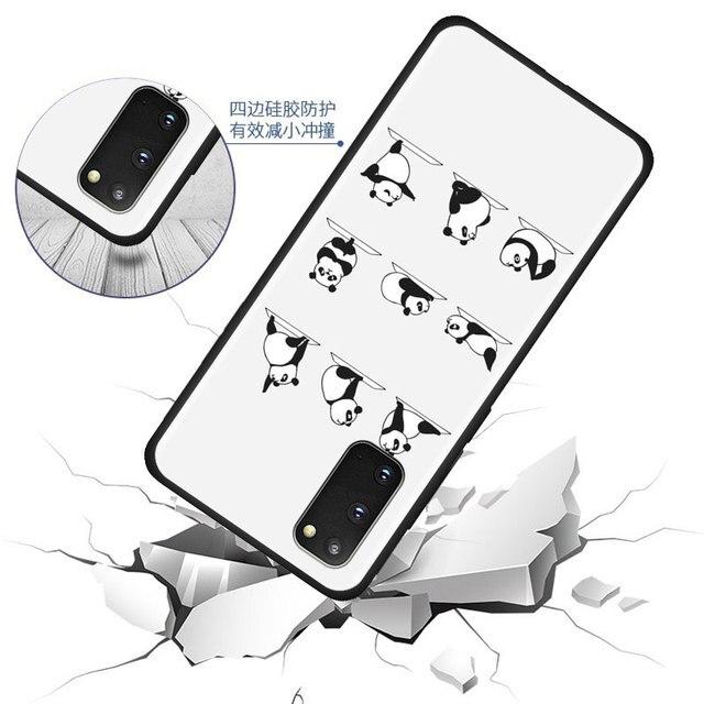 Silikonowa skrzynka pokrywa dla Samsung Galaxy S20 Ultra S10 S9 S8 Plus 5G 10 Lite S10e S7 krawędzi telefon TPU powłoki