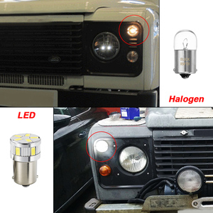 Image 2 - 207 R5W LED Bulbs For Land Rover Defender 90 110 Front Side Light Lamp Parking Light Headlight Position Clearance Lights