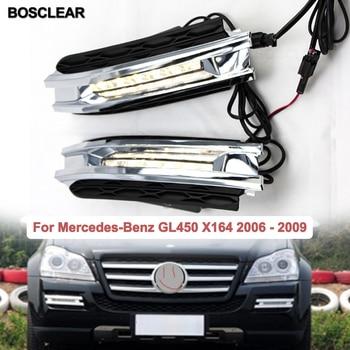 2X6LED Car Styling Daytime Running Lights fog Lamp Driving Day Light For Mercedes-Benz GL320 350 420 450 500 2006 2007 2008 2009