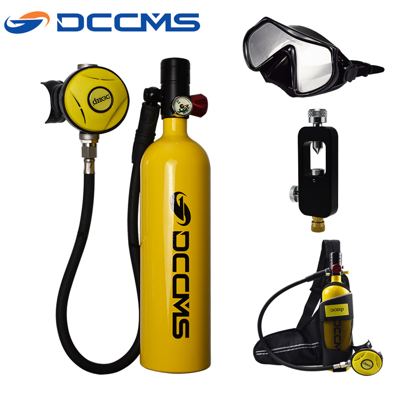 DCCMS Mini Diving Equipment Snorkeling Oxygen Tank Scuba Diving Equipment Diving Oxygen Tank
