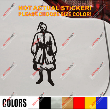 Cossack Ukraine Ukrainian Decal Sticker Car Vinyl pick size color no bkgrd image