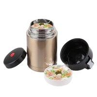 500ML/800ML/1000ML Doppel Edelstahl Thermos Food Suppe Behälter Große Kapazität Vakuum Flaschen Tragbare mittagessen Bento Box|Isoliergefäße & Thermoskannen|Heim und Garten -