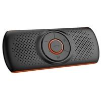 Carro Bluetooth 4.2 Speakerphone Receiver Stereo Music Player Do Carro de Som de Graves Aprimorada/Built-In Mic/Tf Card Player Aux Mãos Livres