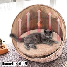 Beheizt matte Katze heizung pad für katzen wärme pad pet Elektrische Heizkissen Decke Welpen Bunny Usb Heizung Bett Matte herbst Winter Kissen