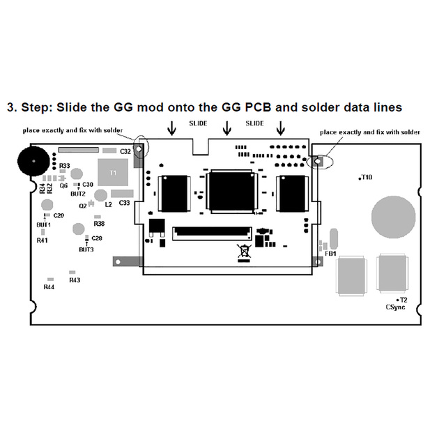 Replacement LCD Screen Panel for Sega Game Gear GG Game Machine Highlight Full Display Touch Screen Modification Kit Accessories