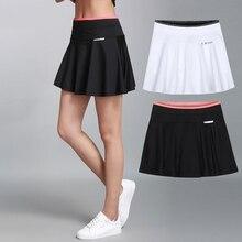 Корейская плиссированная теннисная мини-юбка для девочек, теннисная юбка размера плюс Красного цвета, теннисная юбка с шортами, быстросохнущая тонкая юбка-шорты для бадминтона M-3XL