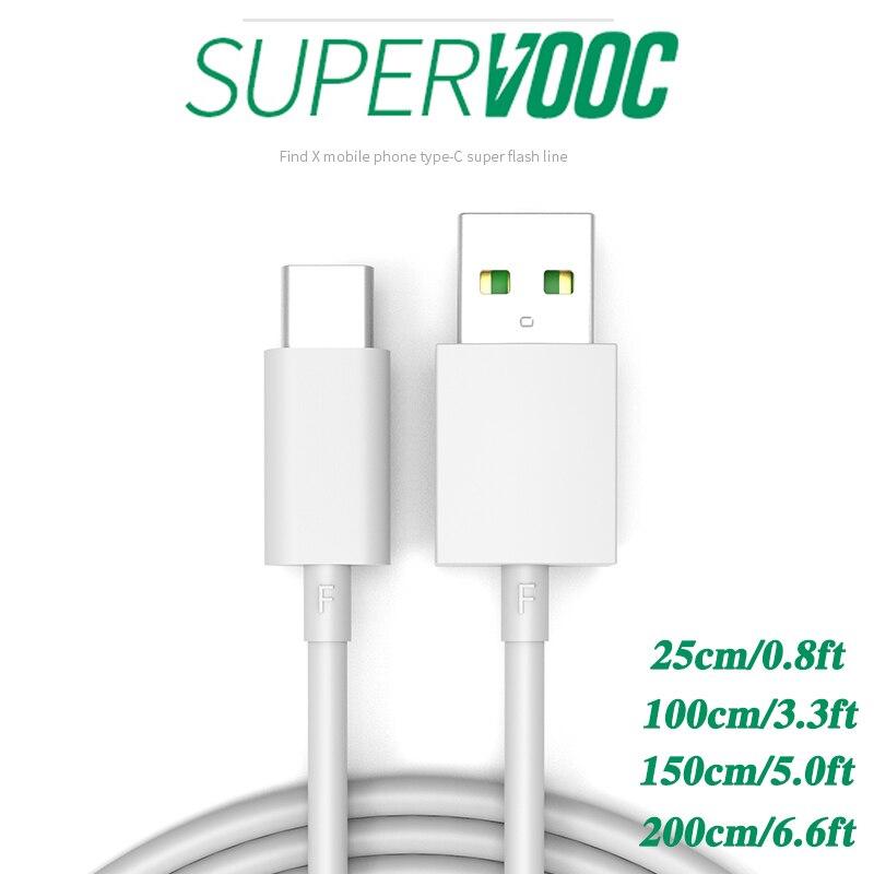 5А супер вспышка VOOC Кабель зарядного устройства для OPPO Realme 6 Pro/Realme X2 Pro/Realme X50 Pro 5G/Realme XT 730G мобильный телефон