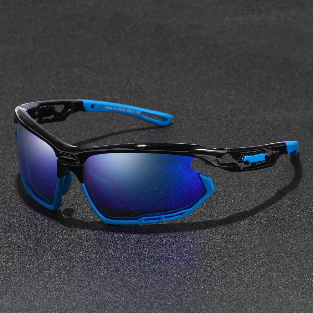 2019 Polarized Lens Sunglasses Men Women Sport Cycling Glasses MTB Road Bike Goggles Sun Glasses Outdoor UV400 Cycling Eyewear in Cycling Eyewear from Sports Entertainment
