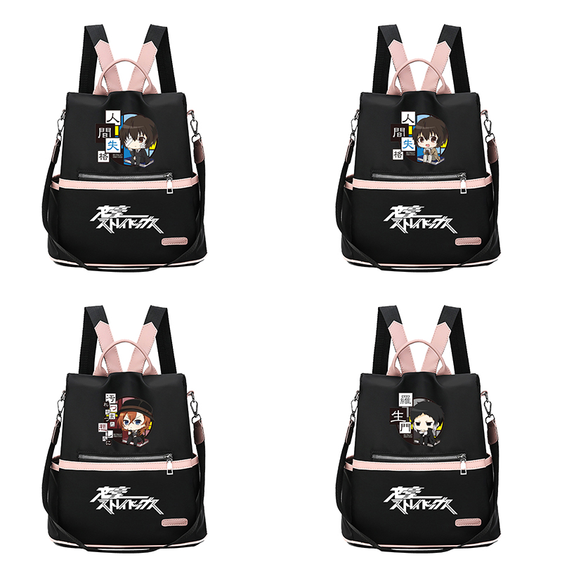 2020 Anime Bungou Stray Dogs Backpack College Student School Rucksack Book Bags For Teens Men Women Casual Travel Bag