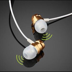 Image 2 - Auricolari sportivi In Ear con microfono cuffie Stereo cablate da 3.5mm cuffie vivavoce auricolari per lettore Mp3 iPhone Xiaomi telefono cellulare