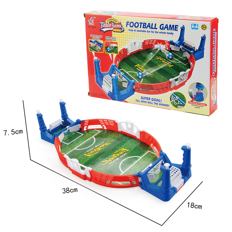 Mini Table Sports Football Soccer Arcade Party Games Double Battle Interactive Toys for Children Kids Adults 5