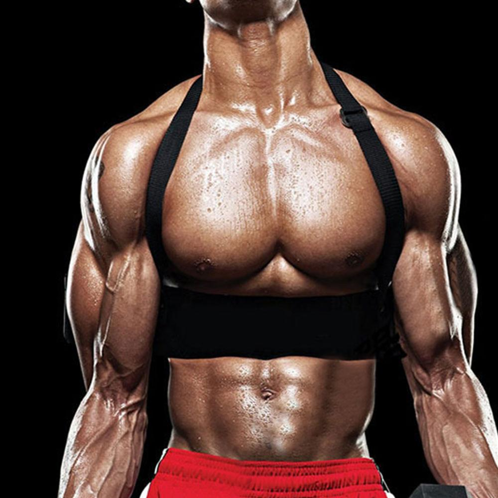Fitness Kraft Training Trizeps Bizeps Drücker Kabel Griff Bodybuilding Arm P3C3