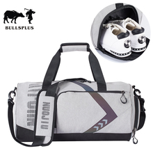 Round Bag Gym Bag Men's Sports Separate Shoes Female Wet And
