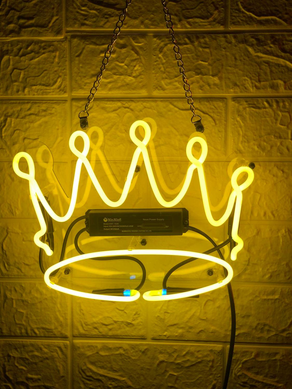 HD008 yellow kown Neon Light Custom Neon Sign image