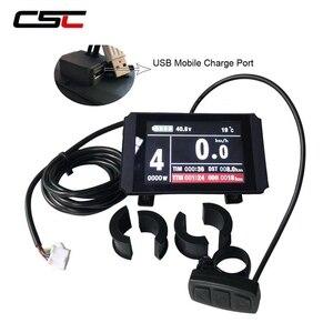 Image 5 - Wyświetlacz roweru elektrycznego 36V 48V inteligentny Panel sterowania rowerowego KT LCD3 LCD8 LED880 ebike LCD