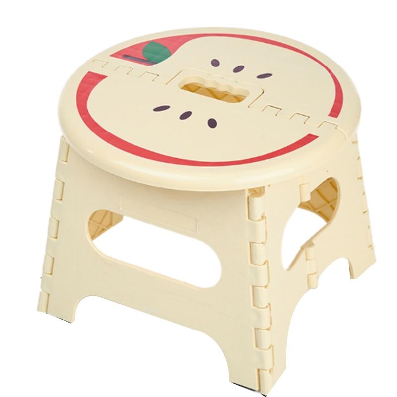 Folding Plastic Stools Children Step Home Furniture For Kid Sitting Picnic Children Stools