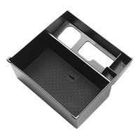 Car Central Interior Armrest Storage Box Fit for Mazda 6 Atenza 2020 Black|Stowing Tidying| |  -