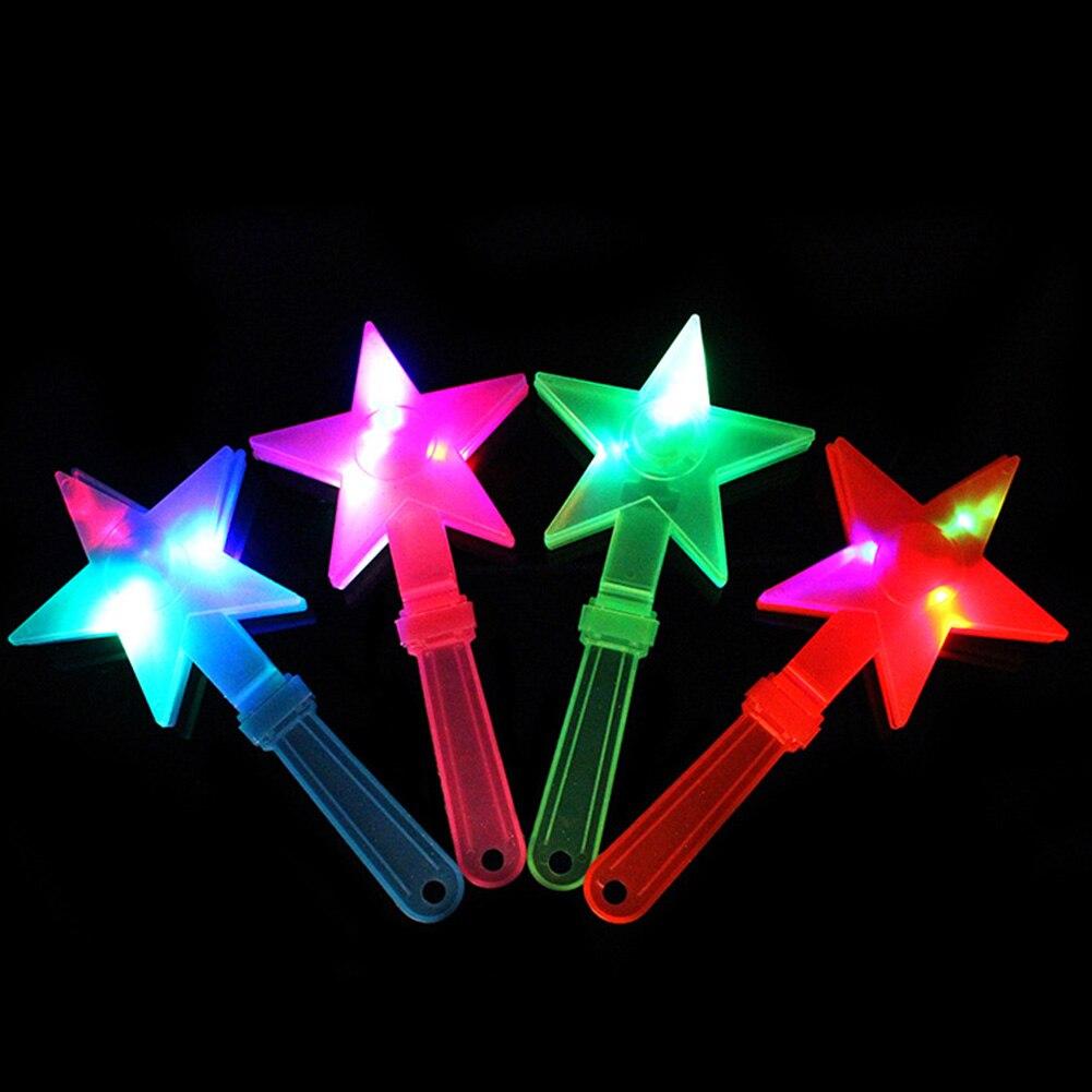 Star Flash Light Stick Multi Color Led Foam Glow Stick Fluorescent