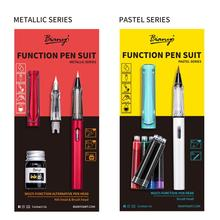 1Pcs Function Pen With Ink Brush Tips Water for Writing Office Supplies