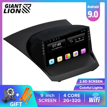 цена на 2DIN Android Car Radio For Ford Fiesta 2009-2017 9'' Multimedia Video Player Navigation GPS Car DVD Player No 2 Din Video Player