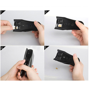 Image 4 - 3 In 1 Micro/Standard to Nano SIM Card Cutter Tool for Apple iPhone 6/7/8 Samsung EM88