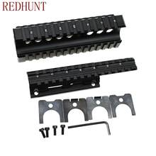 Tactische Ak Handguard Ris Quad Rail Systeem Standaard Picatinny Weaver Rail Scope Mounts Voor AK47 74 Aks(China)