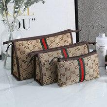 Корейский стиль переноски косметический портативный мешок кормящих большой емкости мешок западный стиль двойной е багажная сумка