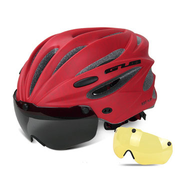 GUB K80 Cycling Helmet with Visor Magnetic Goggles Integrally-molded 58-62cm for Men Women MTB Road Bicycle  Bike Helmet 18