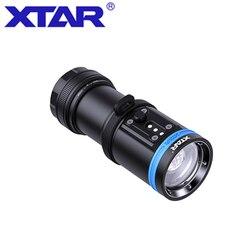 Original XTAR D30 4000 Diving Flashlight CREE XHP35LED 4000lumen UV/RED/BLUE light underwater 100 Metersdiving torch