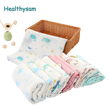 Newborn Blankets Sleepsack Play-Mat Muslin-Wrap Baby Swaddles Bamboo Baby Stroller-Cover