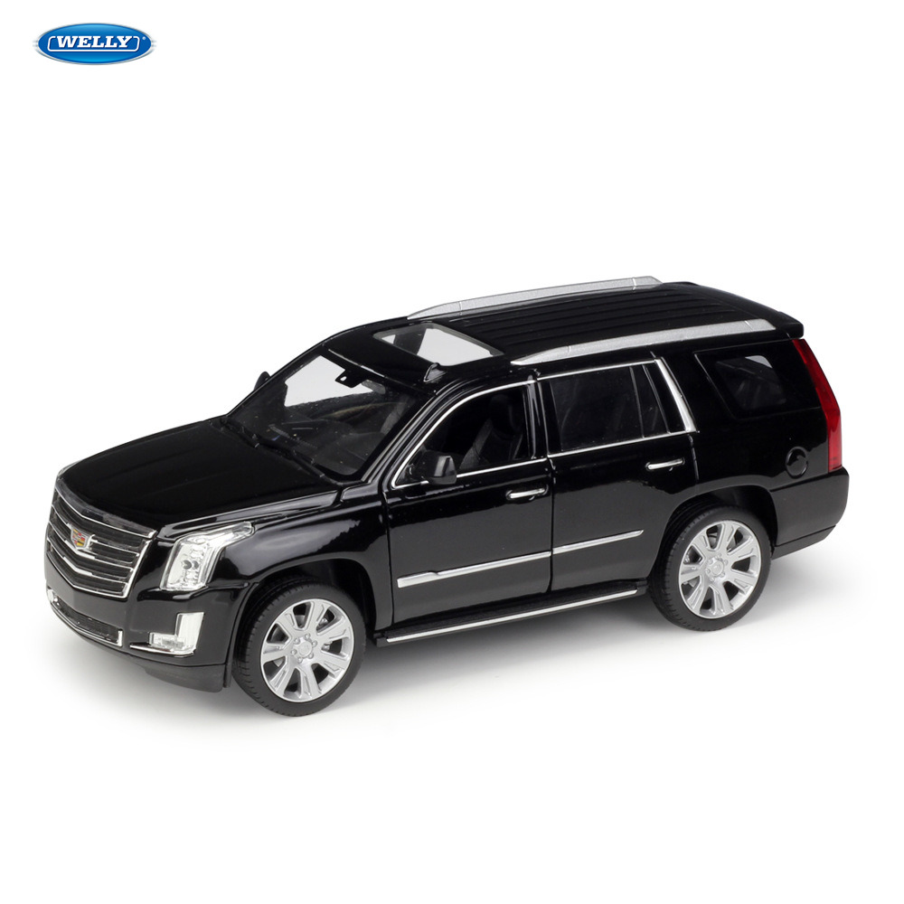 WELLY Cadillac 2017 Escalade SUV sport voiture machine Simulation alliage voiture modèle Collection jouets outils