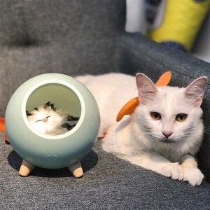 Image 3 - LED חתול אור USB מגע לילה Llight Bionic חתול Stepless עמעום אווירת לילה אור חדר קישוט מנורת חג מתנה